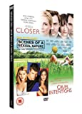 Scenes Of A Sexual Nature/Cruel Intentions/Closer [DVD]