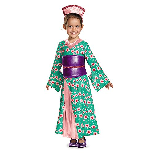 Disguise 83978S Kimono Princess Toddler Costume, Small (2T)