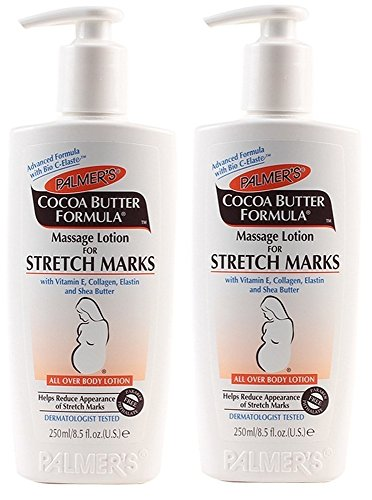Palmer's Cocoa Butter Formula Massage Lotion for Stretch Marks, 8.5 Ounce, 2 Pack - 1