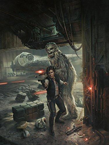 Star Wars Original painting - Han Solo original art