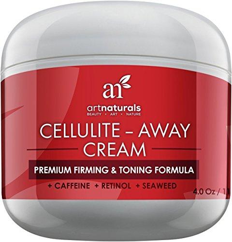 Art Naturals Cellulite Entferner Creme - Enthält bewiesen Anti Cellulite Retinol, Koffein, Meeresalgen - Figurformend, Straffend mit Toning-Effekt - Entfernt Orangenhaut von Beinen, Armen, Bauch und Po. thumbnail