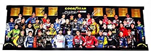 *32X AUTOGRAPHED2012 Goodyear Racing (1954-2012) NASCAR Driver Group Photo 11X33... by Trackside Autographs