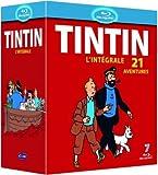 Tintin : l'intégrale de l'animation - 21 aventures [Blu-ray]