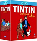 echange, troc Tintin : l'intégrale de l'animation - 21 aventures [Blu-ray]