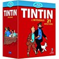 Tintin : l'int�grale de l'animation - 21 aventures [Blu-ray]