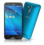 エイスース SIMフリースマートフォン ZenFone Go ブルー ZB551KL-BL16