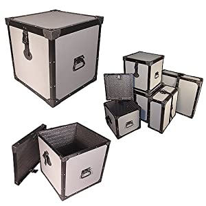 trunk 12 inch cube tuffbox road case 1 4 ply medium duty id 12x12x12 high. Black Bedroom Furniture Sets. Home Design Ideas