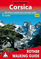 Corsica: The 75 finest coastal and mountain walks - Rother Walking Guide - with GPS tracks