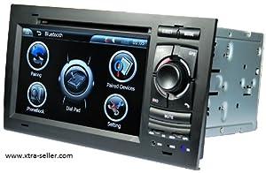 Autoradio 7 pouces HD GPS DIVX DVD PIP MP3 USB micro SD TV RDS Bluetooth IPOD avec CAN BUS pour Audi A4