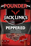 Jack Link's Meat Snacks Beef Jerky, Peppered, 16 Ounce