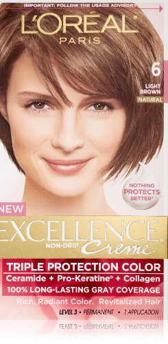 L'Oreal Paris Excellence ToーGo 10ーMinute Cr?me Colorant, Light Brown