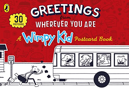 Greetings from Wherever you Are: A Wimpy Kid Postcard Book