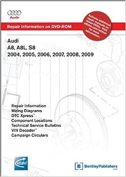 2001 audi a8l wiring diagram audi a8, a8l, s8 2004, 2005, 2006, 2007, 2008, 2009 repair ...