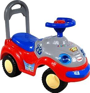 Correpasillos y andados para bebes - Portador con funcion empuja -Tire del juguete - Coche para bebe - Coches para ninos - Baby car ARTI 2109MY Garbus Music Red Ride-On por ARTI en BebeHogar.com