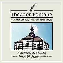 Freienwalde und Falkenberg (Wanderungen durch die Mark Brandenburg 1) Hörbuch von Theodor Fontane Gesprochen von: Gunter Schoß