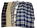 New Men's Plaid Cotton Pajama Bottoms...