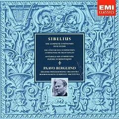 ベルグルンド指揮 シベリウス:交響曲全集&交響詩集のAmazonの商品頁を開く