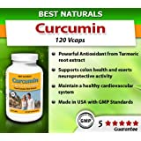 Best Naturals High Potency Curcumin Extract 700 Mg, 120 Capsules