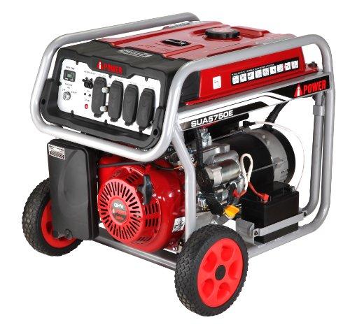 A-Ipower Sua5750E Electric Start Gasoline Generators