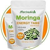 Moringa 500 Energy Tabs 950mg, 100% Natur, keine Kapseln (2x250 Tabletten)