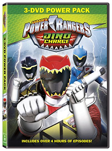 Power Rangers: Dino Charge 3-Set DVD (Power Rangers Dvds compare prices)