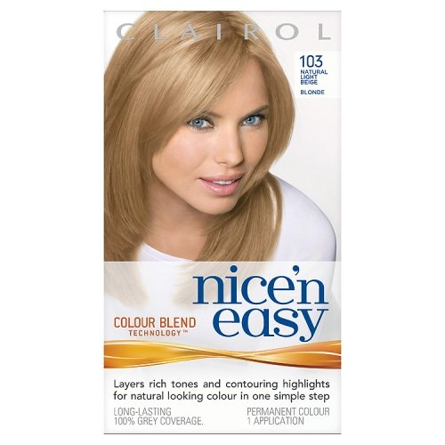 Clairol Nice'n'Easy Hair Colourant 103 Natural Light Beige Blonde