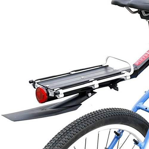 1stモール 【 サドルポールに簡単取付け 】 泥除けフェンダー 付属 自転車 リアキャリア 反射板付 荷台 ワンタッチ 簡単取付 マウンテンバイク ロードバイク ST-RYOBAI2