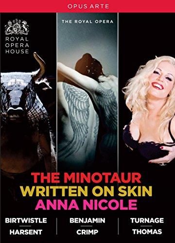 イギリス現代オペラBOX - バートウィッスル:歌劇《ミノタウロス》/タネジ:歌劇《アンナ・ニコル》/ベンジャミン:歌劇《リトゥン・オン・スキン》 [DVD,4Discs]