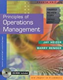 Principles of Operations Management and Interactive CD (0130554693) by Heizer, Jay
