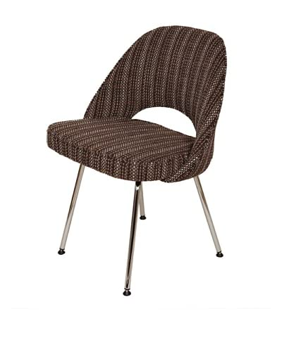 Control Brand The Johnson Side Chair, Chocolate
