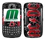 MusicSkins AC/DC - Black Ice Skin for BlackBerry Curve 8520/8530