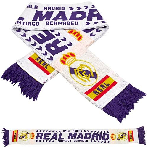 Premiership Soccer Real Madrid Fan Scarf