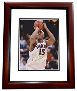 Carmelo Anthony Autographed Hand Signed Syracuse Orangemen 8x10 Photo - MAHOGANY... by Real+Deal+Memorabilia