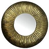 Lulu Decor, Golden Moon Mirror, Size 25