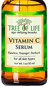 Vitamin C Serum - 72% Organic - Anti Wrinkle Serum for Face - Anti Aging Facial Serum'