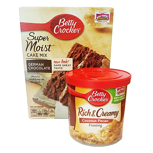 Betty Crocker Butter Pecan Cake Frosting