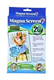 MAGNA MESH SCREEN HAS 20 MAGNETS (Box may vary)