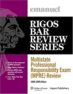 Multistate Professional Responsibility Exam (MPRE) Review: 2008-2009 ...