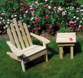 Children's White Cedar Adirondack Chair
