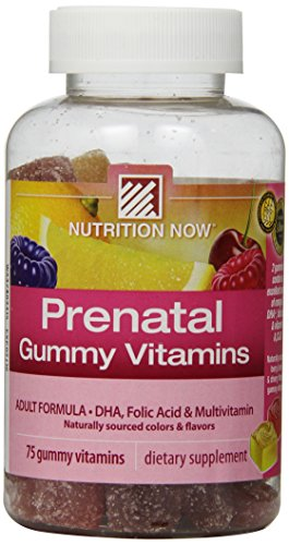 Nutrition Now Prenatal Gummy Vitamins, 75 Count