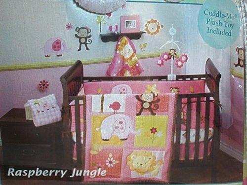 Nojo Little Bedding Raspberry Jungle