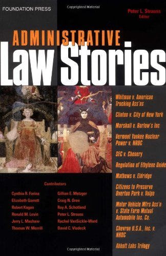 Administrative Law Stories PDF