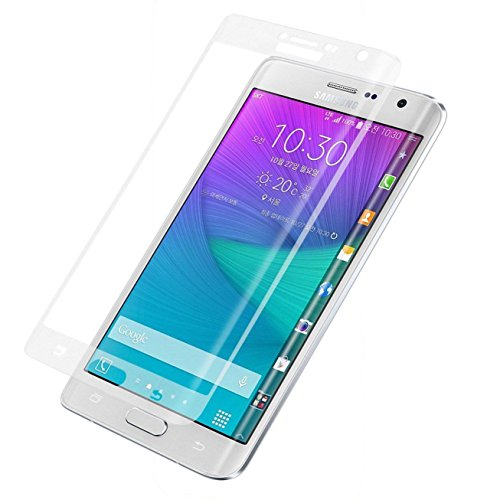 Marval Power Transpartent Full Cover 3D Tempered Glass Screen Protector for Samsung Galaxy Note Edge N9150 (Note Edge Tempered Glass compare prices)