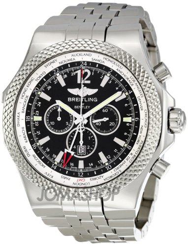 Breitling Men's A4736212/B919SS Bentley GMT Chronograph Watch