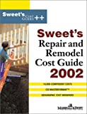 img - for Sweet's Repair and Remodel Cost Guide 2002 book / textbook / text book