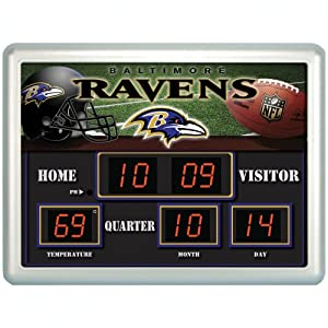 Buy Team Sports America NFL Scoreboard Clock by Fans With Pride