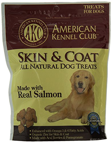 American-Kennel-Club-Salmon-All-Natural-Treats-for-Skin-and-Coat-6-ounce