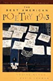 The Best American Poetry 1993