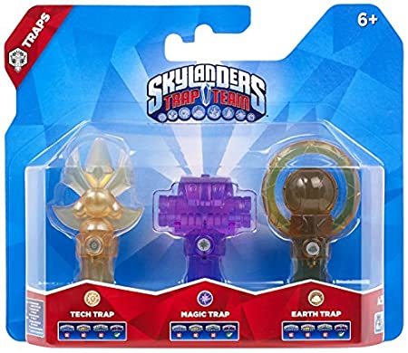 Skylanders Trap Team: Triple Trap Pack - Tech, Magic, Earth