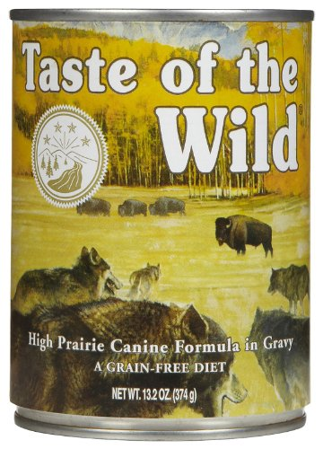 taste of the wild canned dog food feeding guidelines